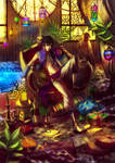 Illustration Commission: Jazad by KodamaCreative