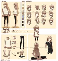 Character Profile Commission: Snow (Yuki)