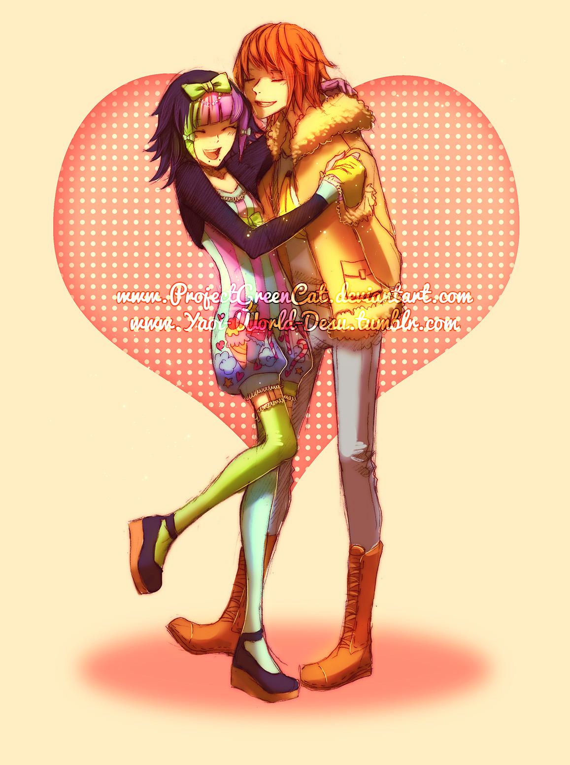 Happy Valentine's Day! by KodamaCreative