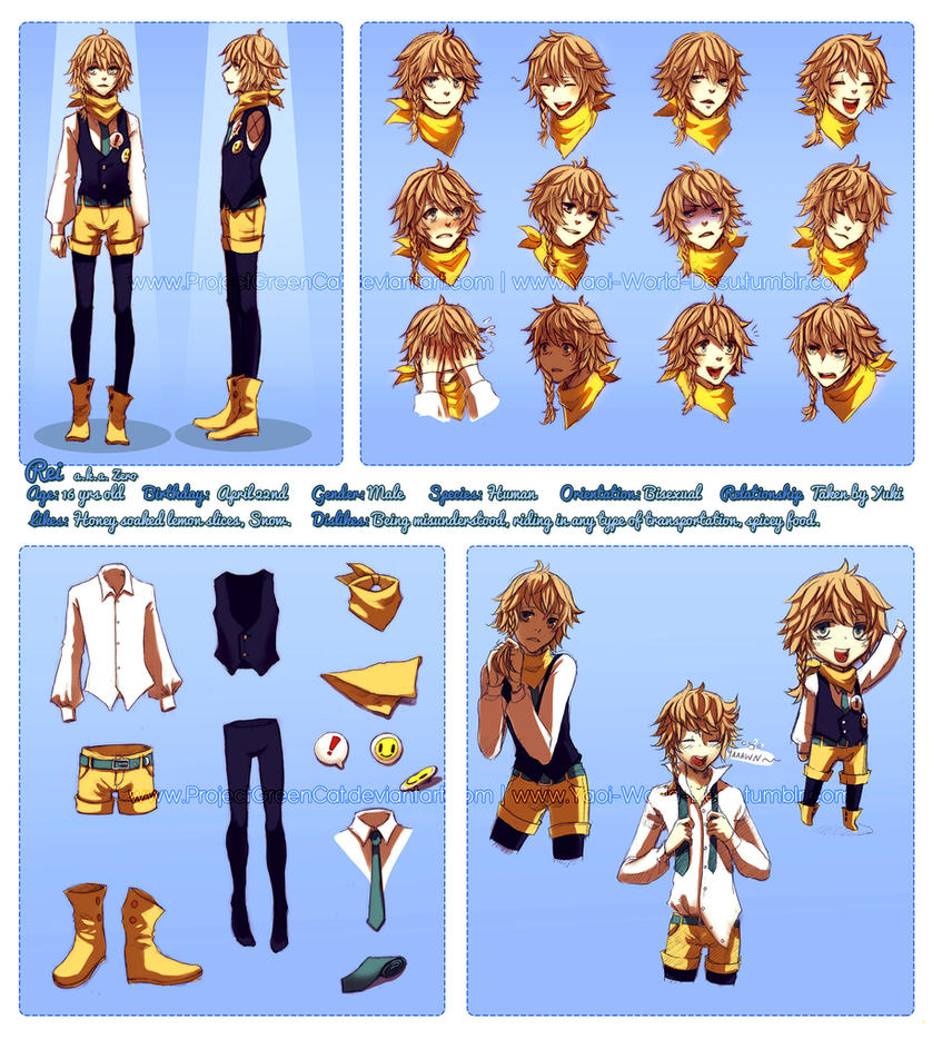 Character Profile Commission: Rei (Zero) by KodamaCreative