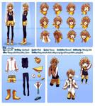 Character Profile Commission: Rei (Zero)