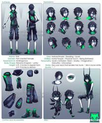 Character Profile Commission: Noir