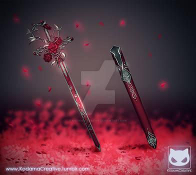 Commission: Sword Design - Rose Blade