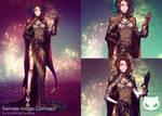 Commission Custom Concept Design : Female Mage
