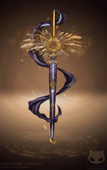 Commission Custom Design :  Sword