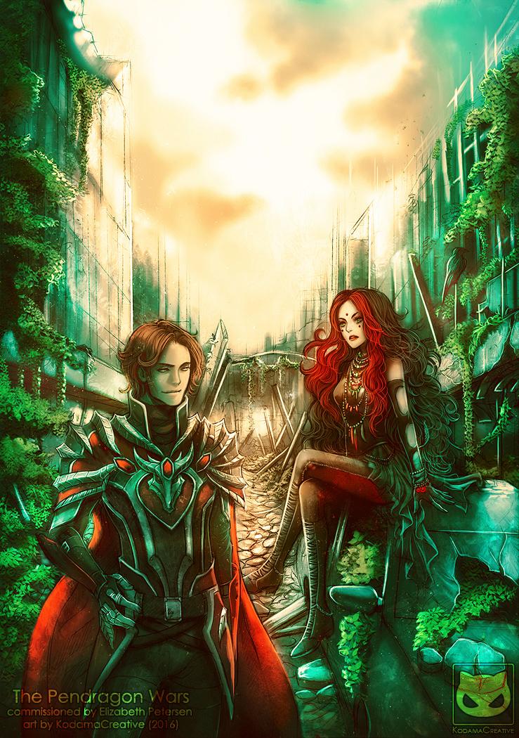Commission: The Pendragon Wars by KodamaCreative