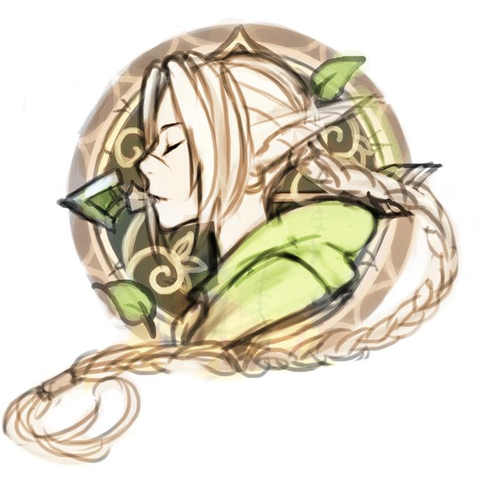 Elven Logoss by KodamaCreative
