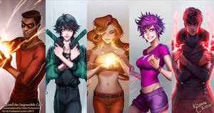 Beyond the Impossible Cast (Commission)