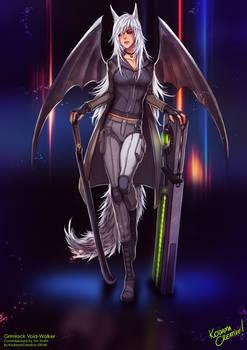 Commission: Grimlock Void-Walker