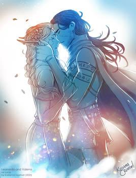 Leonardo and Valena by KodamaCreative