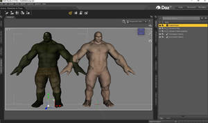 Hulk MA a DAZ