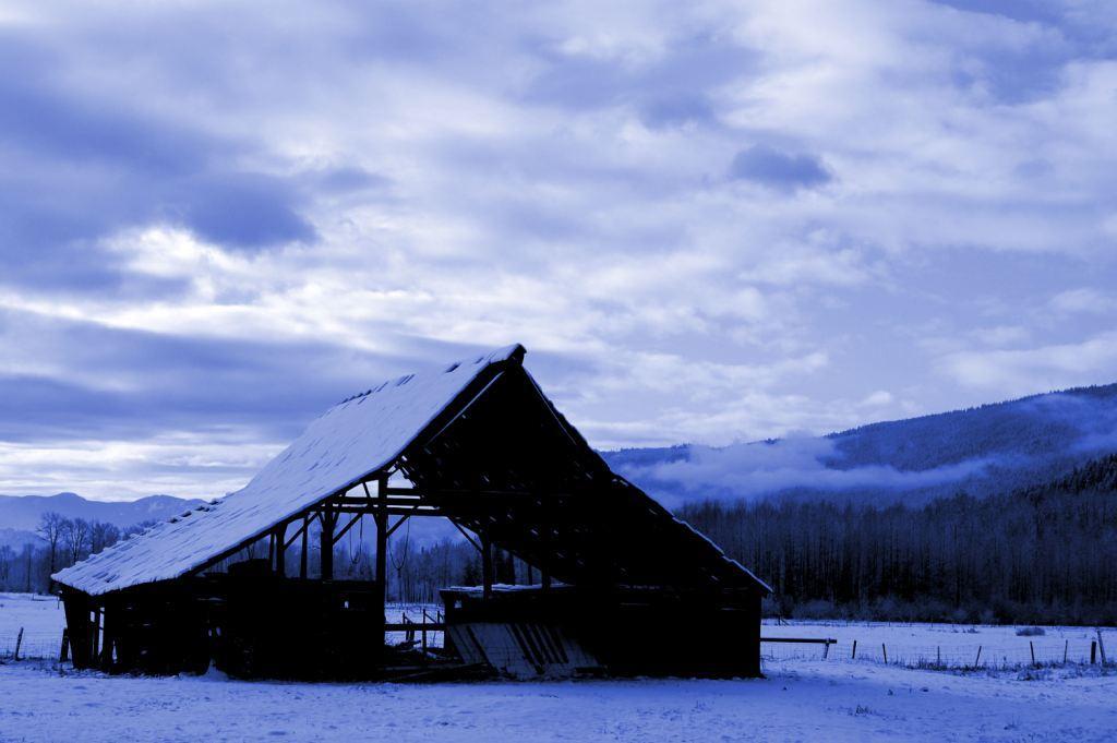 Winter Barn by ProcterPhoto
