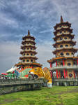 Dragon and Tiger Pagodas by heart-WORM