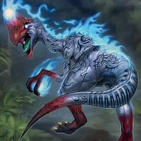 Soul-Devouring Oviraptor by ParryDox