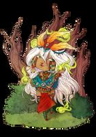 :COM: Chibi Calypso by A-nako