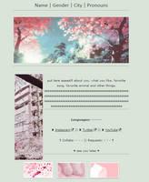 sakura lover || non-core f2u + code by SnowGirl1548