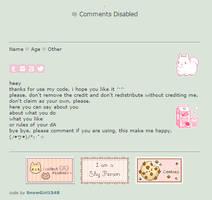 plushie | non-core f2u + code by SnowGirl1548