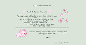 so cute | non-core code f2u by SnowGirl1548