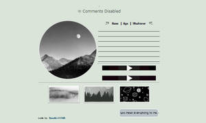 mountains and moon | non-core code f2u by SnowGirl1548