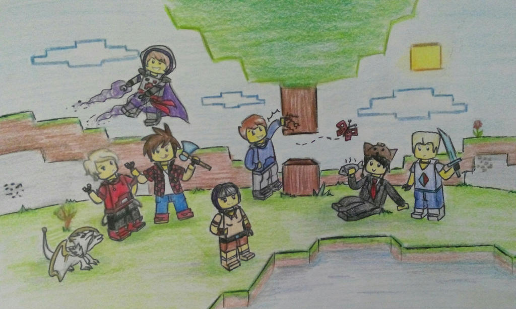 Minecraft-Ninjago Crossover 2 (Real Pic) by ZBPurpleBerry