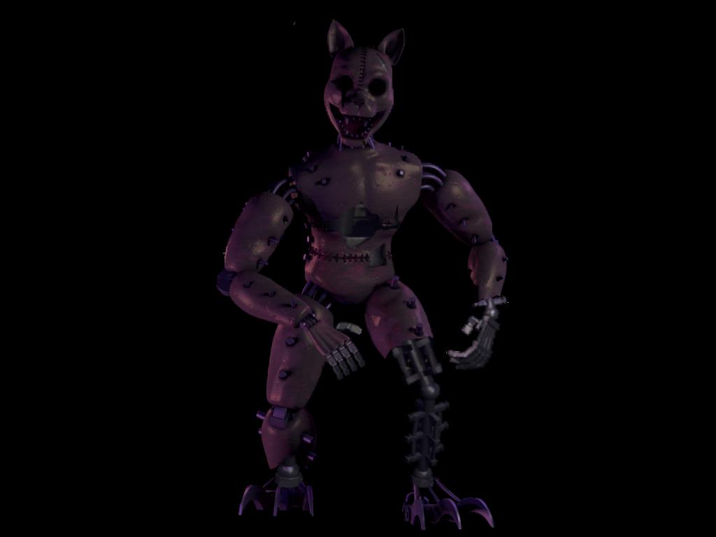 Fnac 2 monster cat by FredbearGames on DeviantArt