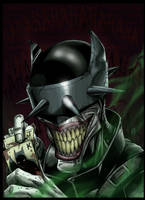 The Batman Who Laughs by Huang-Jun