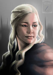Daenerys by Huang-Jun