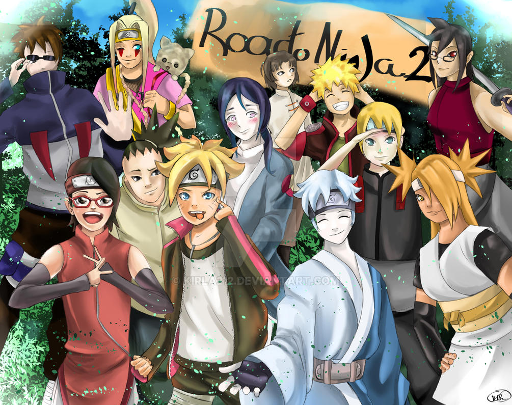 COMMISSION: road to ninja 2, naruto new generation by ...