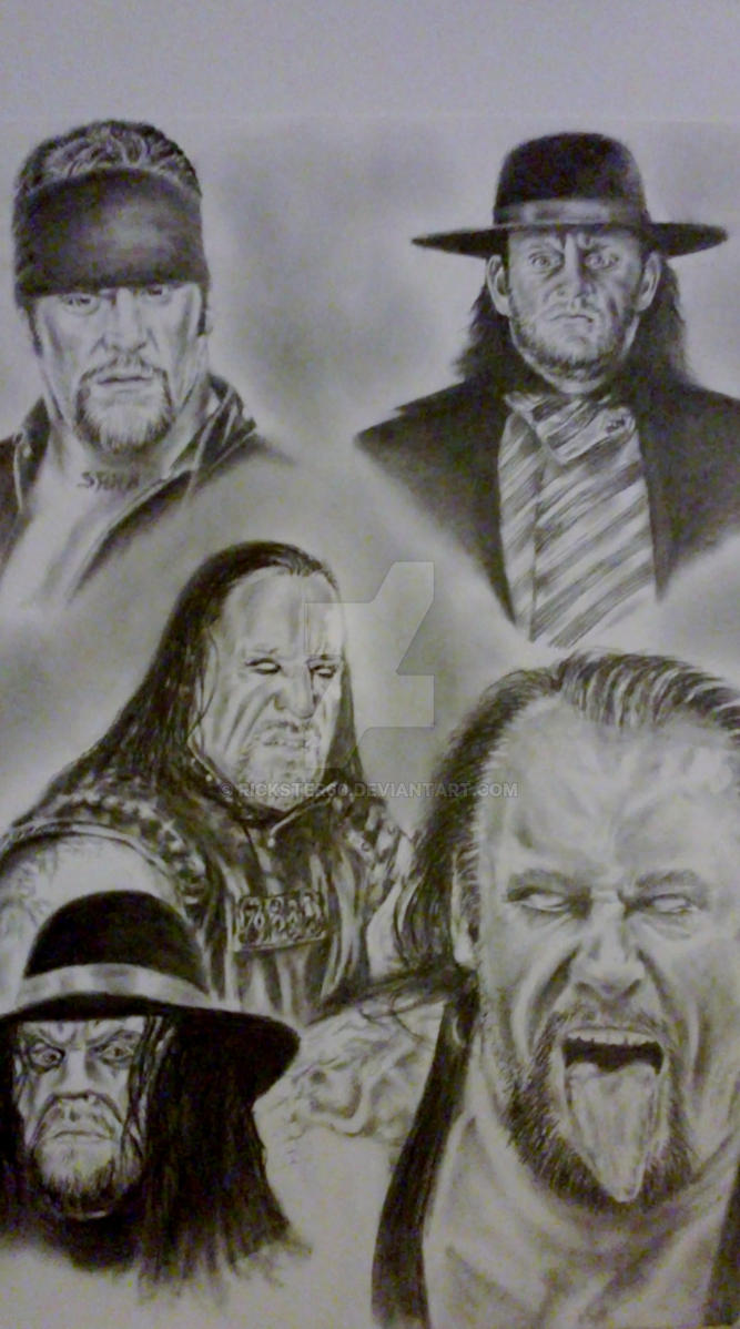 Uncategorized How To Draw The Undertaker the undertaker by rickster60 on deviantart rickster60