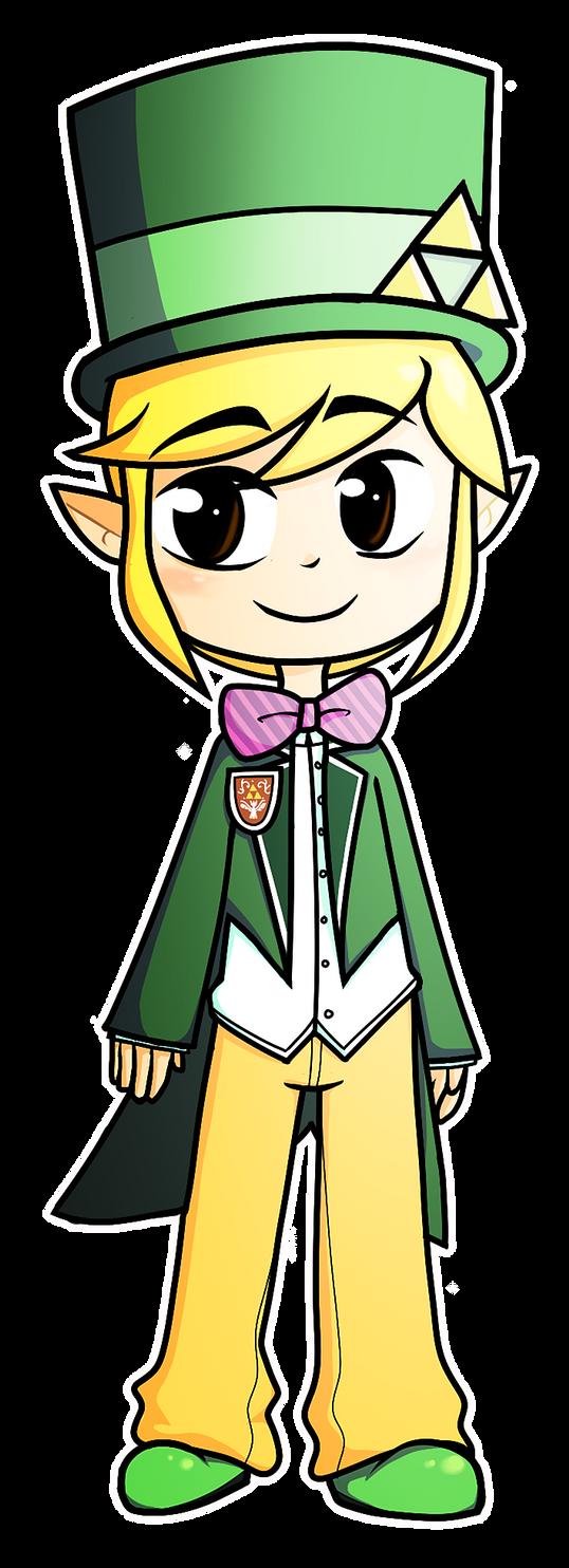 Fancy Toon Link by LightningDust101