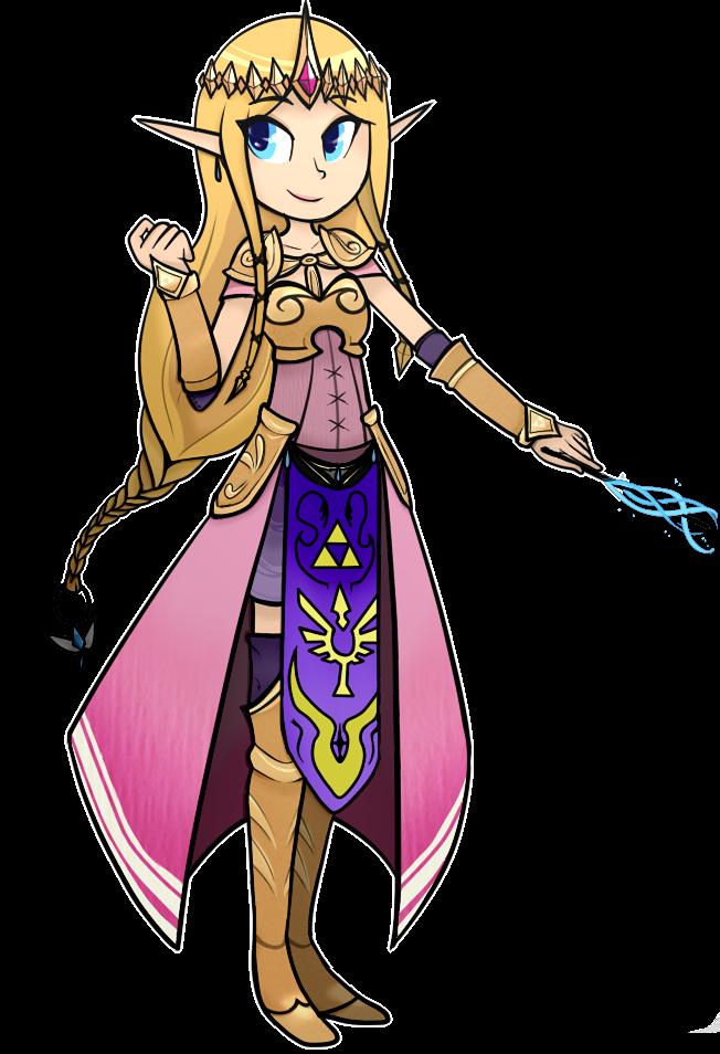 Hyrule Warriors Zeldaaaaa by NintenDash