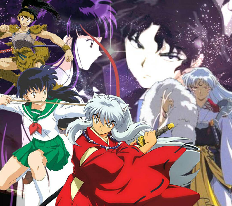 Inuyasha Kagome Wallpaper By Inucoso On DeviantArt