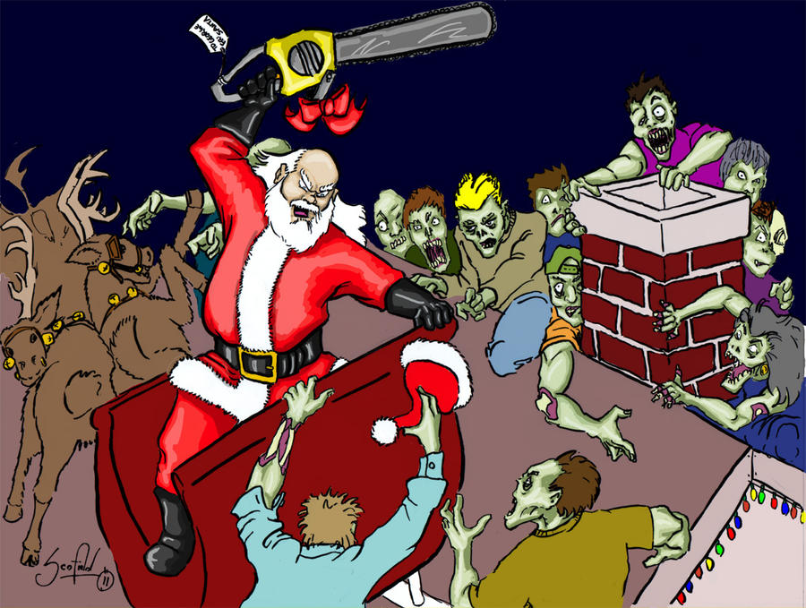 Zombie Santa Game Zombie vs on Vs-nation Santa