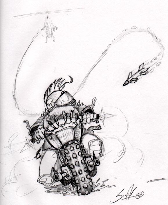 Sketchbook: Oh Sh*t! by pscof42