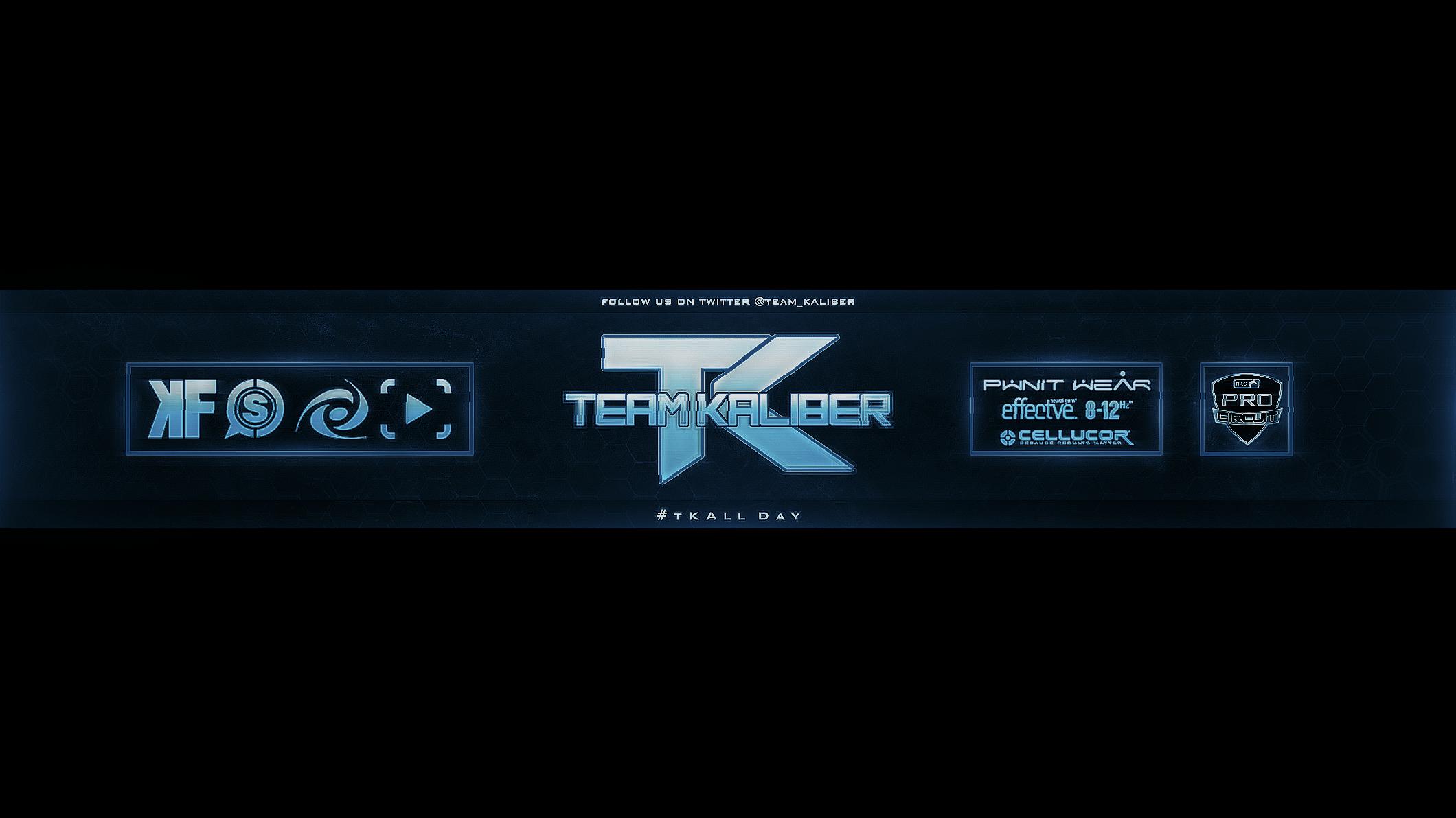 Team Kaliber YouTube Banner #tKAllDay by TravelArts on ...