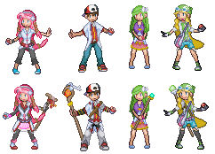 Four New Characters