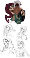 Random Dragon Age sketches