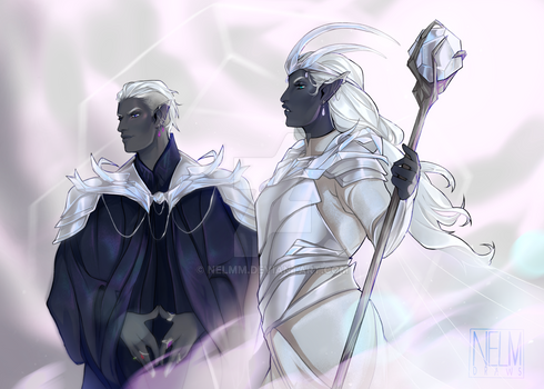 The Bright Queen and Shadowhand