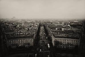 Paris II - Le long de la route by BennyBrand