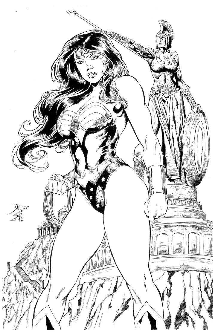 Wonder Woman by Barquiel