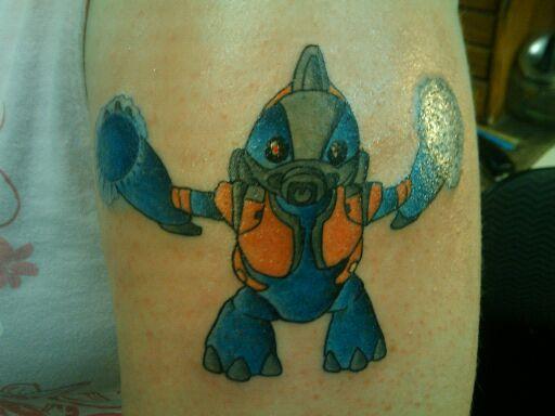 Grunt unggoy halo by crayola on deviantart for Everett tattoo emporium