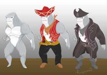 Shark is a bad fish by RainmanQ