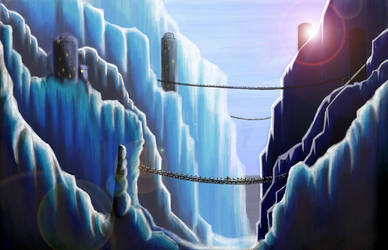 Ice Canyon by Mike35