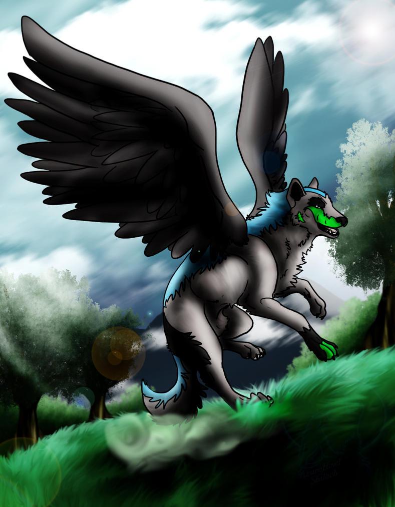 CM - Raven's Landing by AzureHowlShilach