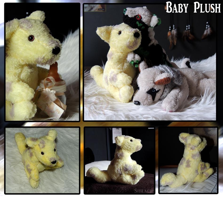 Baby Plush by AzureHowlShilach