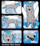 Wind wolf species - AzureHowl