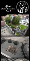 Castle GravenSteen part 2 by AzureHowlShilach