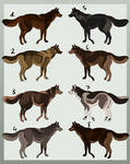 Adopt chart wolves 2016 (CLOSED)