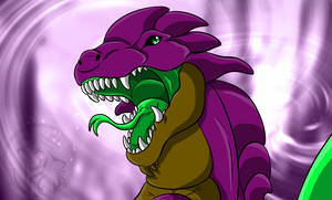Roar of the poison dragon by AzureHowlShilach