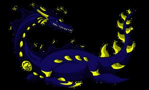 Cosmic Dragon Asteria by AzureHowlShilach